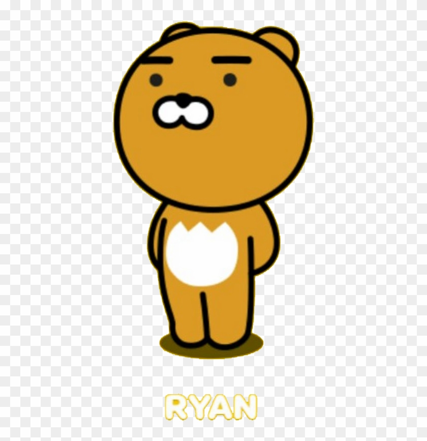 Apeach Ryan Tube Conmuzi Transparent Kakao Ryan