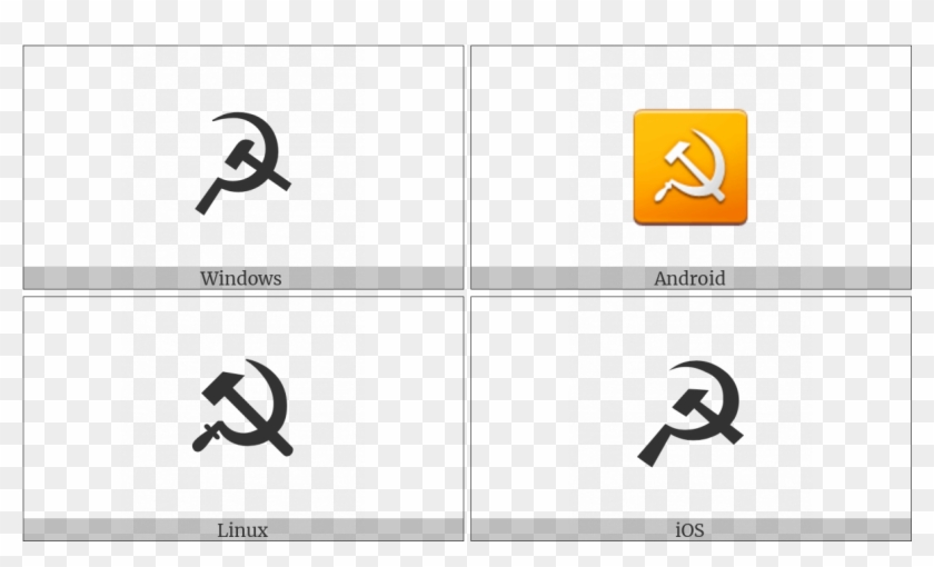 Hammer And Sickle On Various Operating Systems - Hammer And