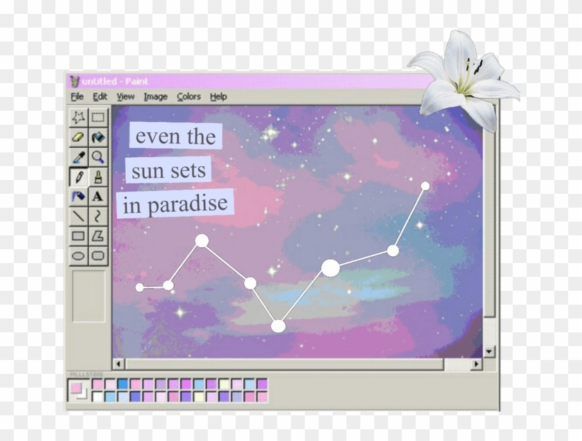 Png Tumblr Galaxy Aesthetic Editing Overlay - Aesthetic