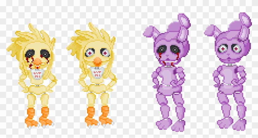 Another Fnaf Pixel Art For A Letsplay Channel Me N My