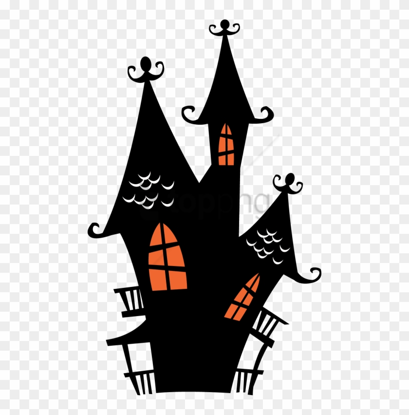 Free Png Halloween Png Png Image With Transparent Background Spooky House Haunted House Clipart Png Download 480x772 5056499 Pngfind