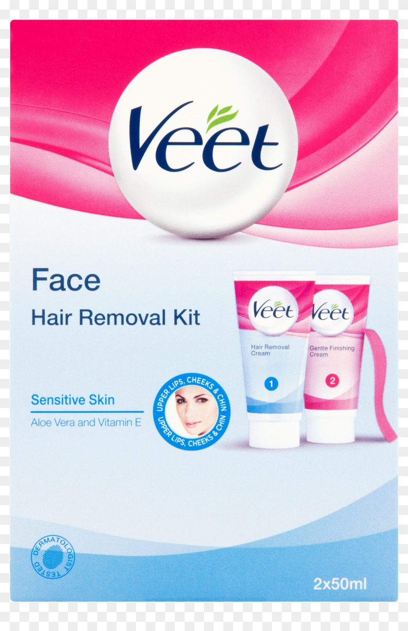 Veet Face Hair Removal Cream Hd Png Download 2365x2365 5057039 Pngfind