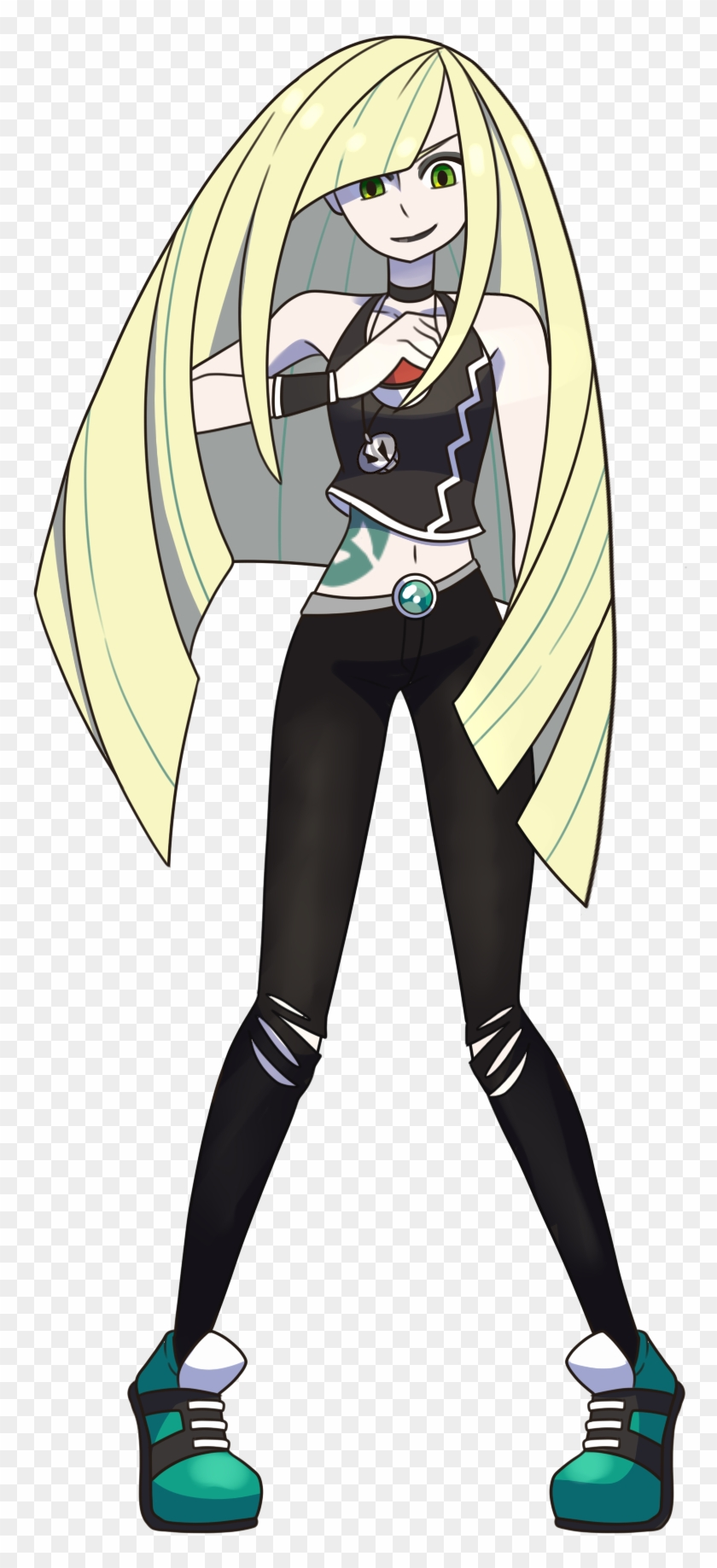 Team Skull Version Of Lusamine From Pokemon Sun And