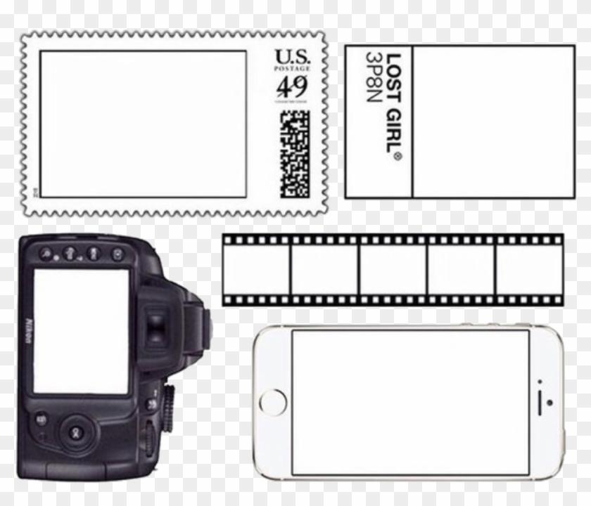 Overlay Edit Camera Phone Film Cute Aesthetic Black - Mobile