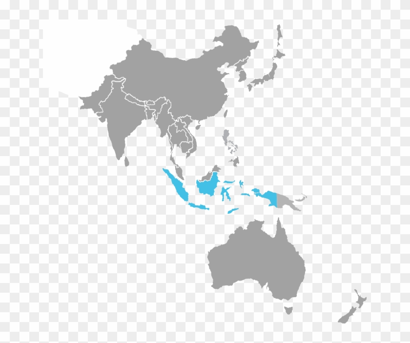 Map Of Asia Vector.Illicit Tobacco Map Asia Pacific Map Vector Hd Png Download