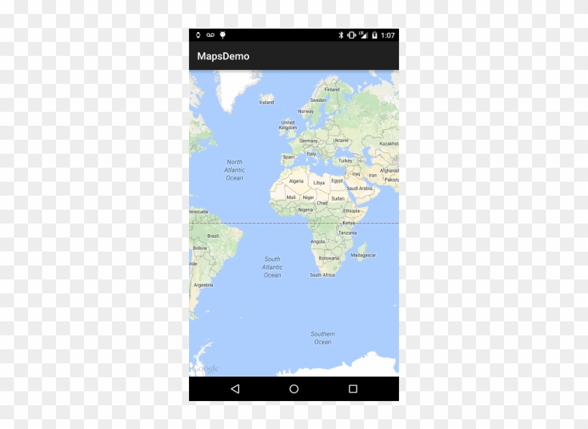 What Your Screen Should Look Like When Google Maps - World ... Google Map World Download on topographic maps, download bing maps, download icons, online maps, download london tube map, download business maps,