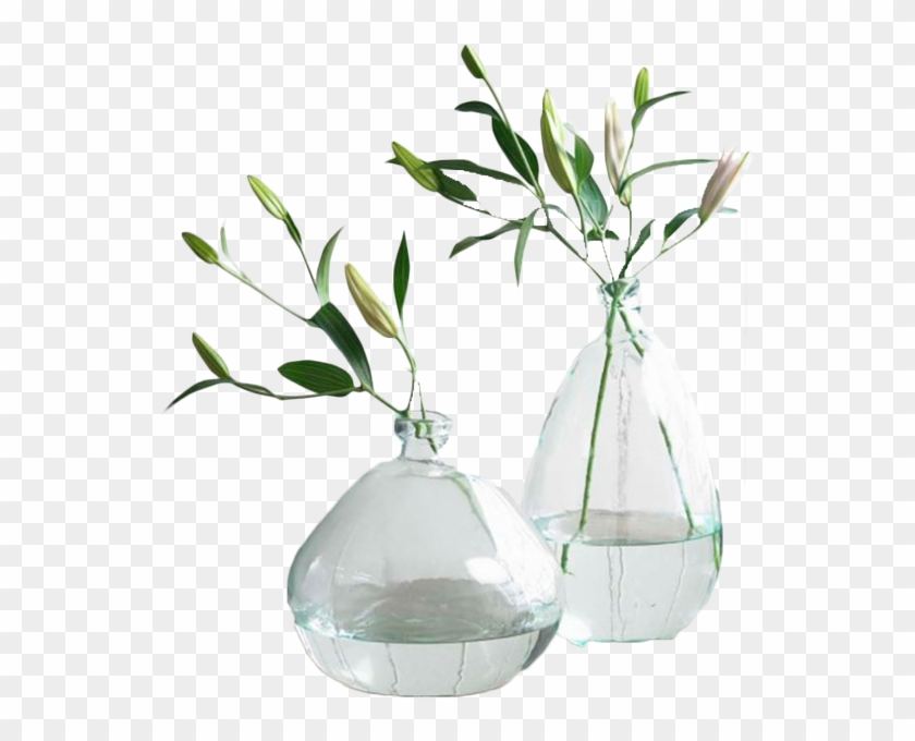 Clear Recycled Glass Balloon Vases Recycled Glass