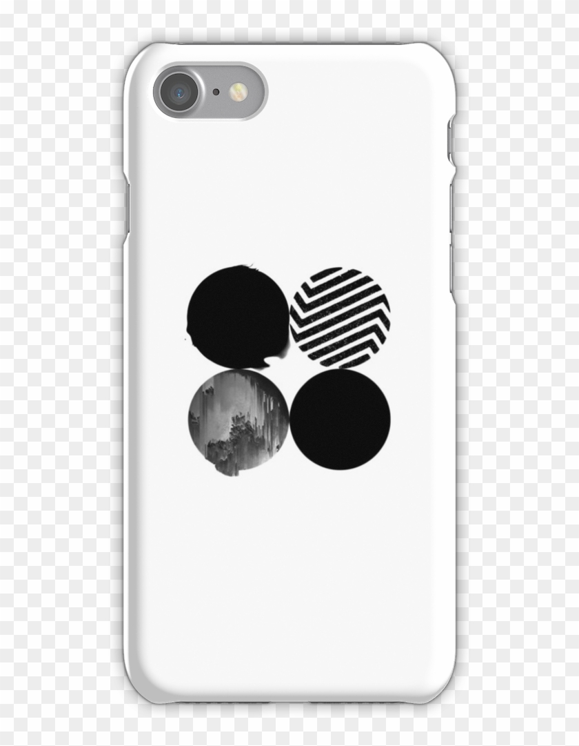 BTS Wings Polaroid Watercolor iphone case