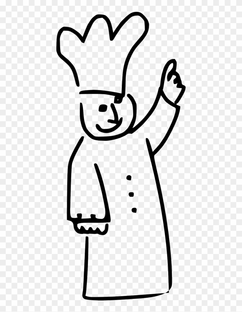 Cooking Cartoon Black And White Png Transparent Png 500x1000 511980 Pngfind