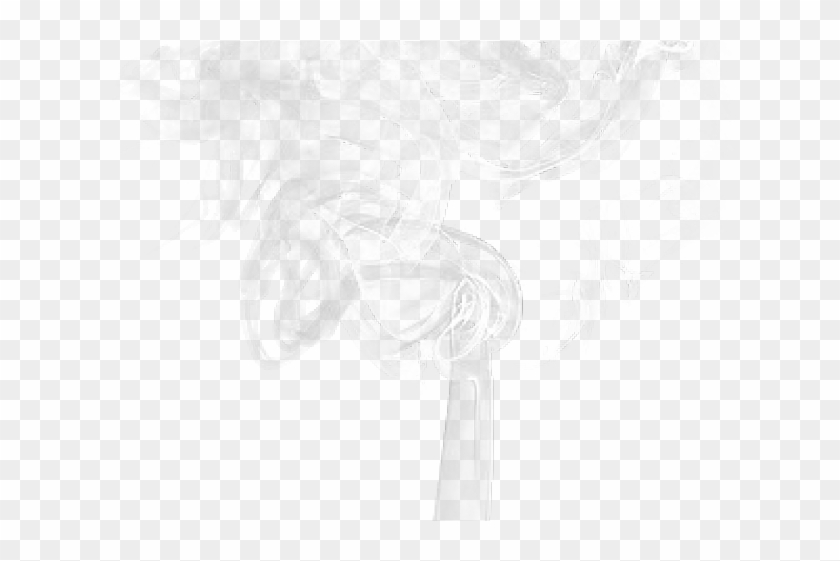 Smoke Effect Clipart Overlay Png - Darkness, Transparent Png