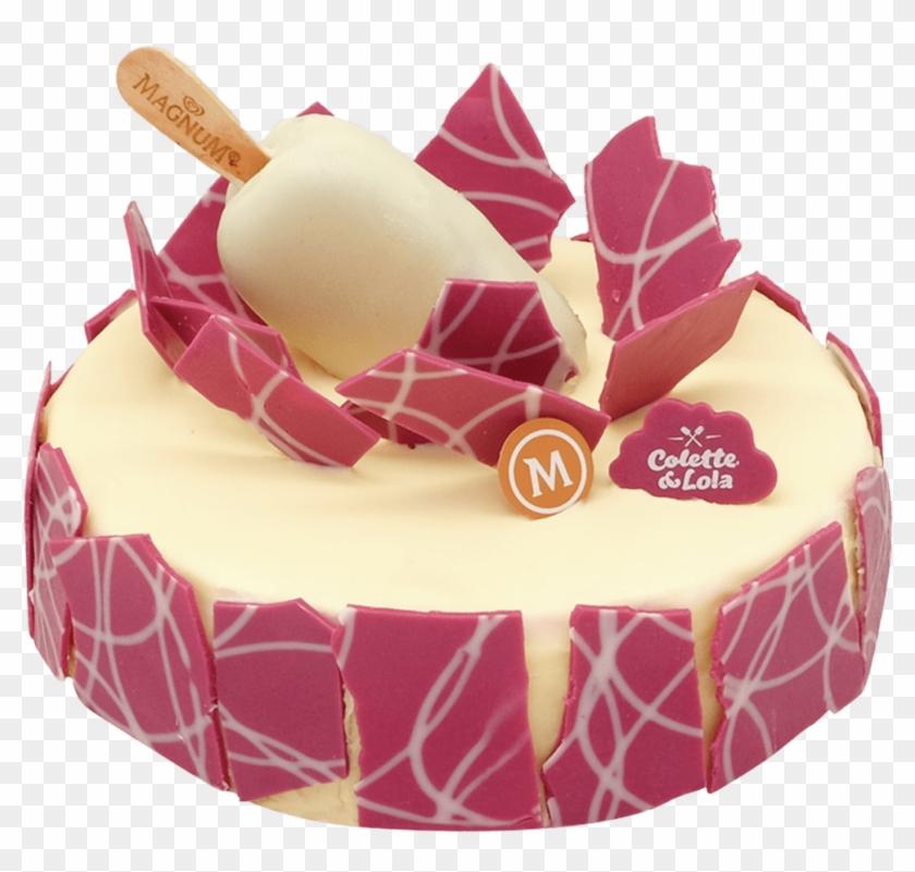 Magnum Red Velvet Cake - Birthday Cake, HD Png Download