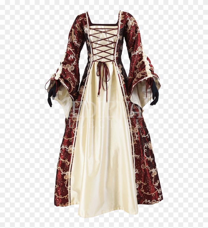 Jpg Freeuse Stock Fancy Taffeta Renaissance Dress Gown Hd Png Download 850x850 5132222 Pngfind