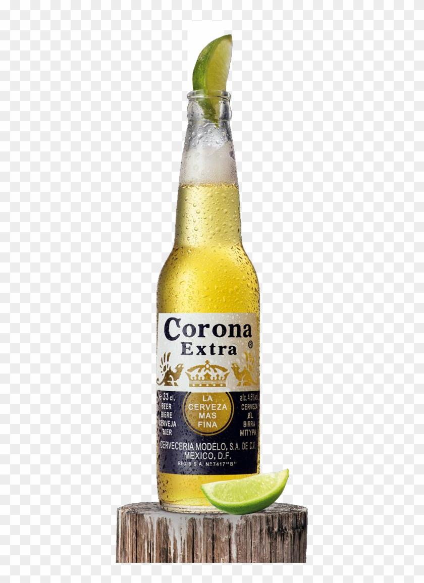 Coronas Png - Corona Extra Lime, Transparent Png - 398x1081(#5164443
