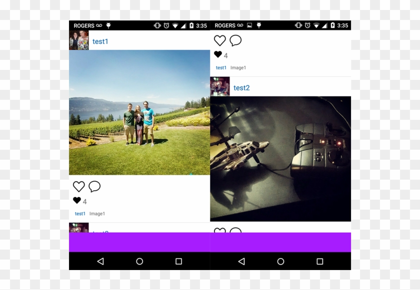 Alt Text - Instagram Android Github, HD Png Download - 1000x500