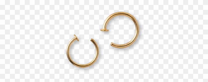 Nose Ring Transparent Earrings Hd Png Download 600x600