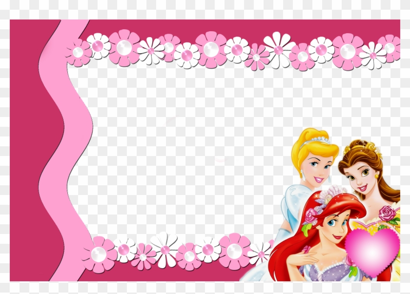 Moldura Princesas Png