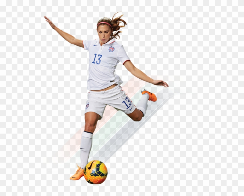 huge discount c364b 8ffed Girl Soccer Png - Alex Morgan No Background, Transparent Png ...
