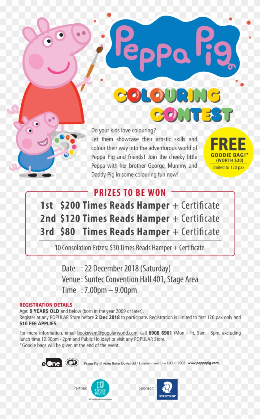 Peppa Pig, HD Png Download - 1000x1487(#522066) - PngFind