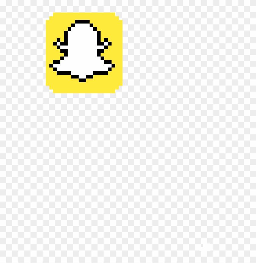 Snapchat Logo , Png Download - Minecraft Pixel Art Snapchat