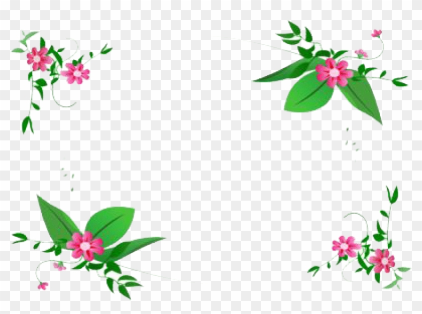 Free Png Flowers Borders Png Flower Border Design Png Hd