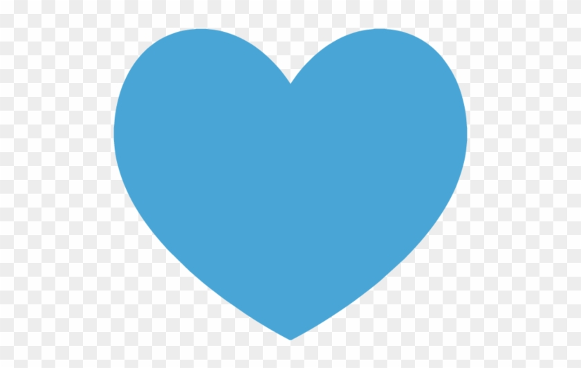 Heart Icon - Blue Heart Transparent Background, HD Png