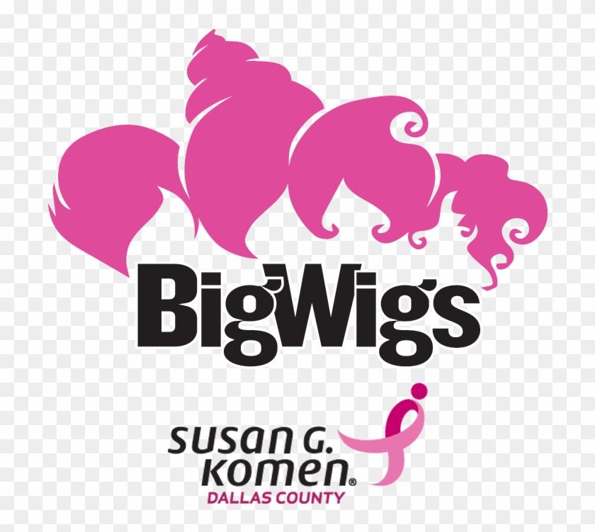 Bigwigs Affiliate Dca Lg 3c Ol - Susan G Komen, HD Png