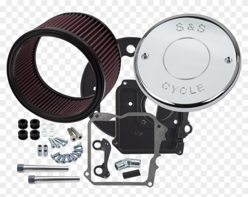 S&s Chrome Nostalgic Script Air Cleaner Kit For 17-18 - S&s