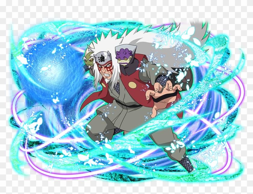 14 May - Naruto Blazing Sage Jiraiya, HD Png Download - 1024x772
