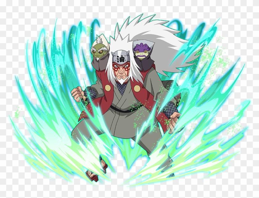 14 May - Sage Mode Jiraiya Naruto Blazing, HD Png Download - 940x692