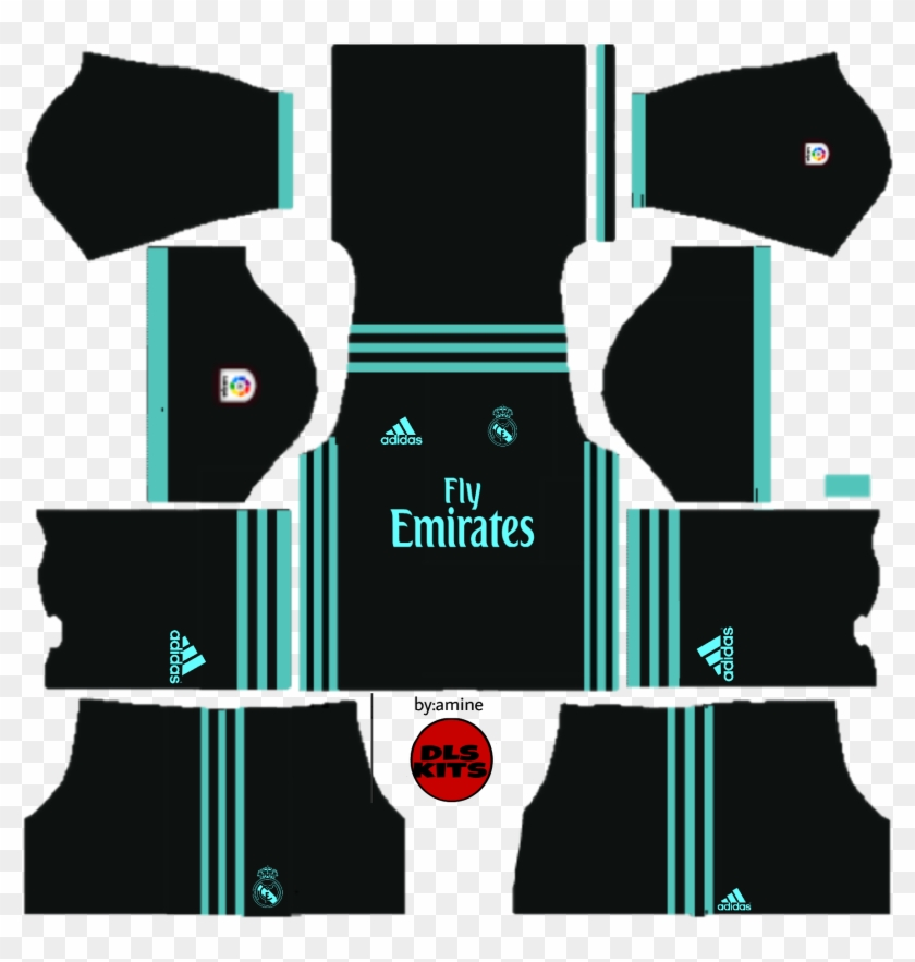 more photos f8549 4975e Real Madrid - Kit Real Madrid, HD Png Download - 1773x1773 ...