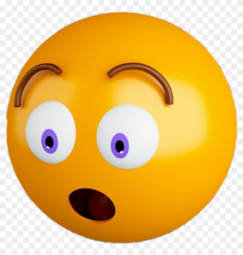 Emoji Emojis Emotions Emoticons Surprised 3d Scfavemoji ...