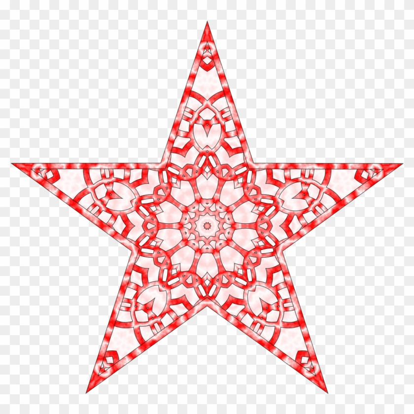 28 Collection Of Abstract Christmas Star Clipart Printable Star
