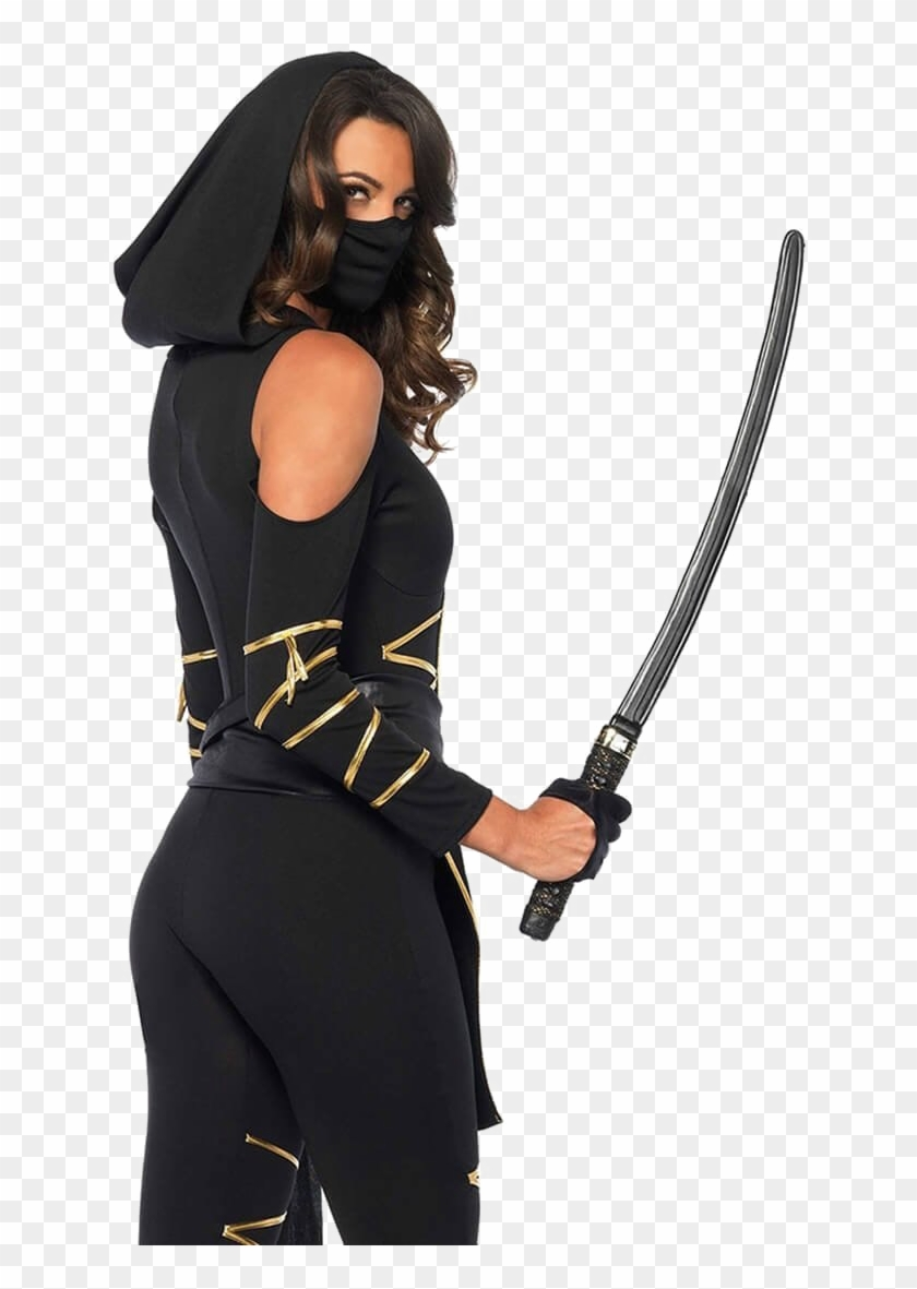 Ninja Png Background Image Ninja Assassin Costume Woman Diy
