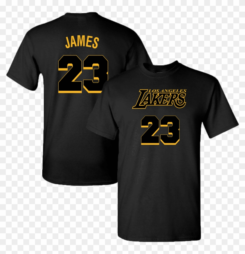 606a7c9c Men's Los Angeles Lakers Lebron James - Active Shirt, HD Png Download