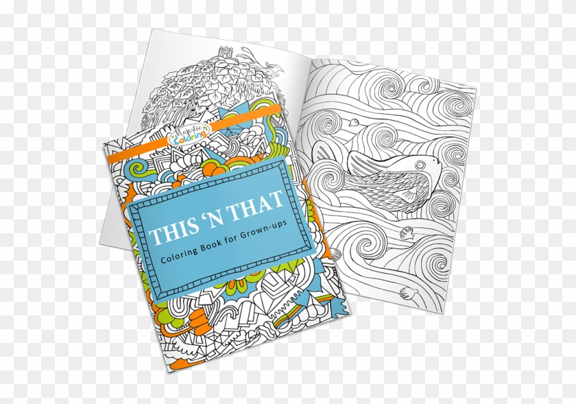 - Free This 'n That Coloring Book - Doodle, HD Png Download -  630x537(#5302366) - PngFind