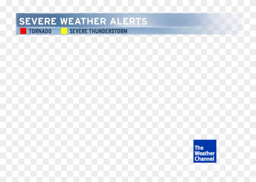 Severe Weather Alerts - Weather Channel, HD Png Download