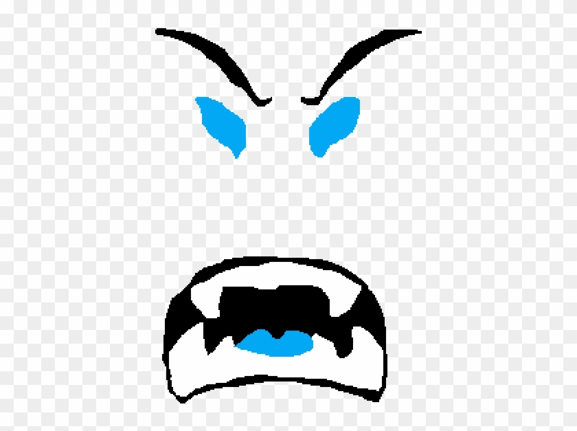 Blizzard Beast Mode Roblox Beast Mode Face Hd Png Download