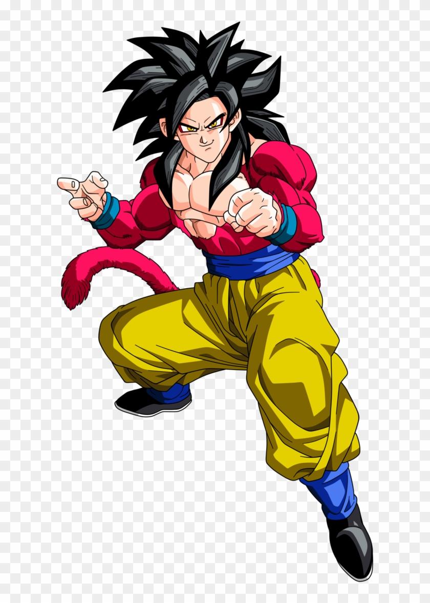 Goku Clipart Wikia Goku Super Saiyan 4 Png Transparent Png