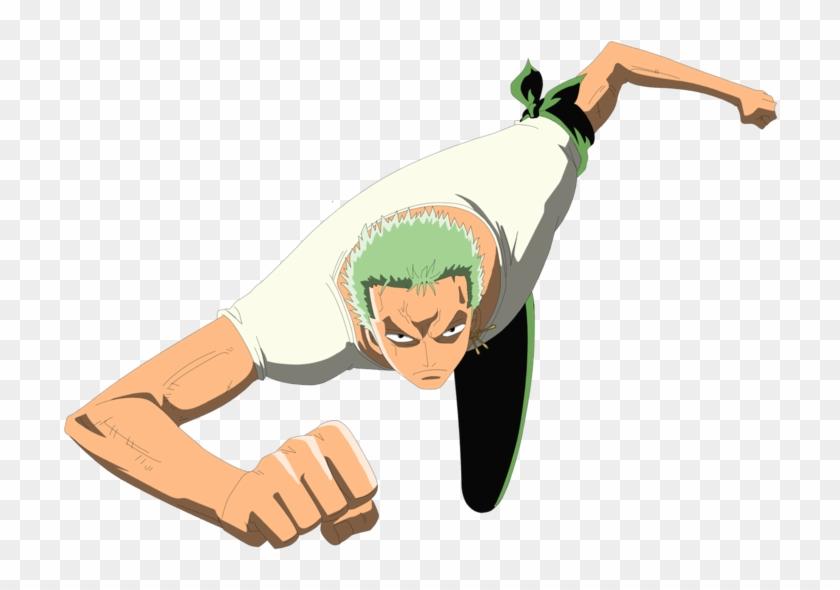 Roronoa Zoro Cartoon Hd Png Download 900x800 5320381 Pngfind