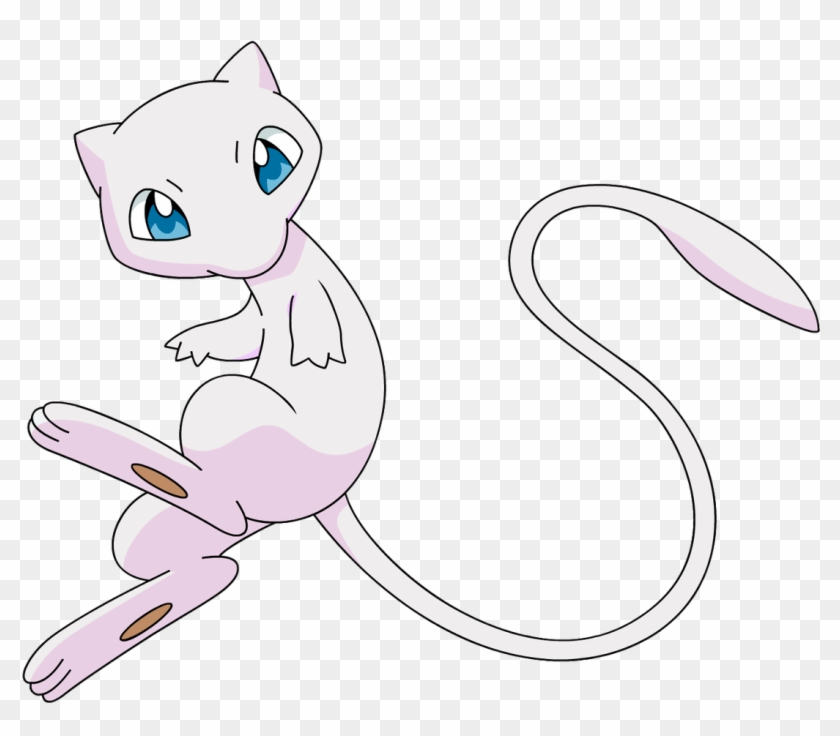 Blue And Pink Mew, HD Png Download - 1100x905(#5330884) - PngFind