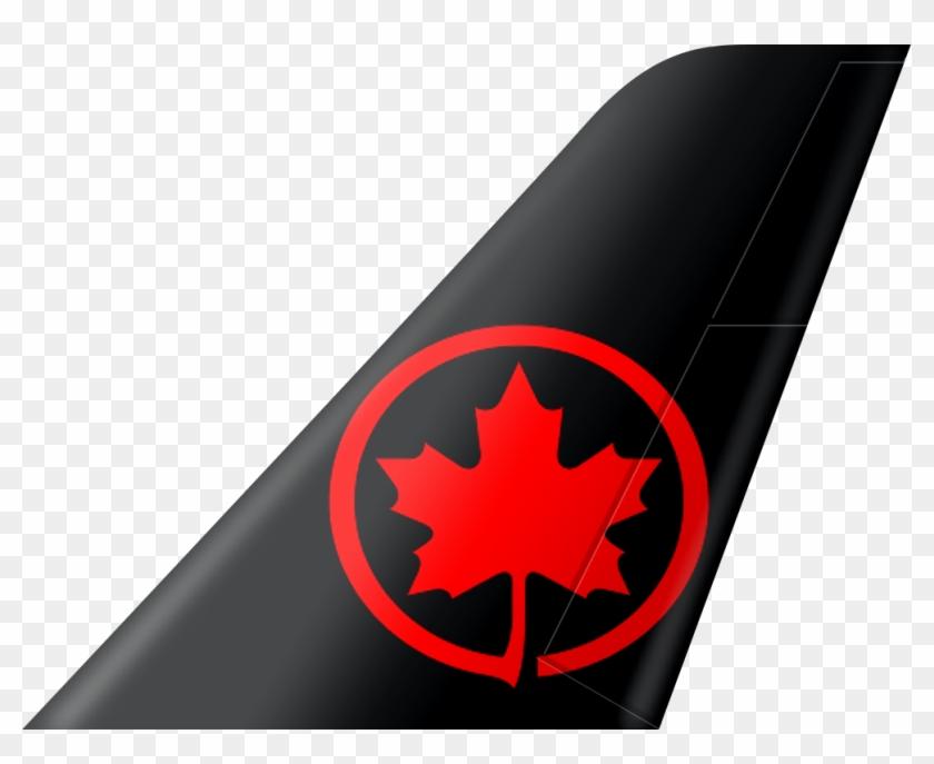 Air Canada Airline Iata Code - Air Canada Logo Black, HD Png