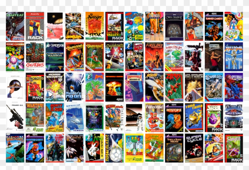 C64 Mini Games - C64 Mini Games List, HD Png Download - 1024x652