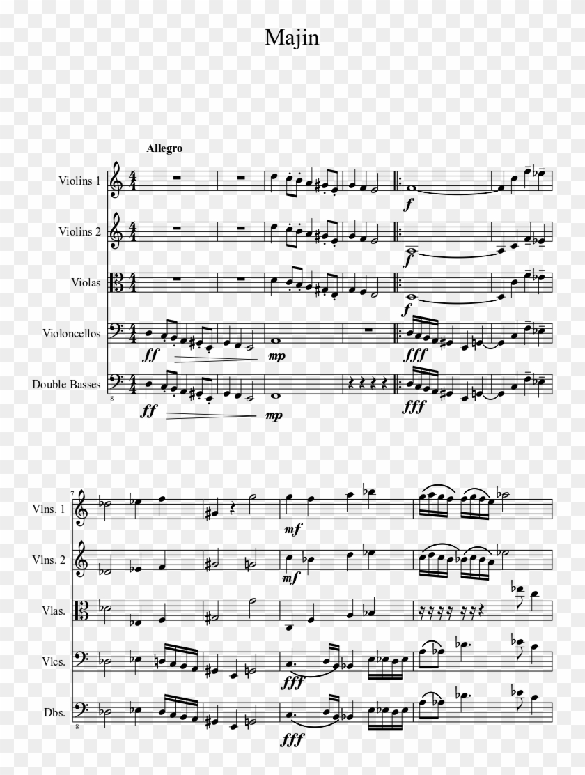 photo relating to Free Printable Sheet Music for Trumpet referred to as Majin Sheet New music 1 Of 4 Internet pages - Aged City Highway Trumpet Sheet