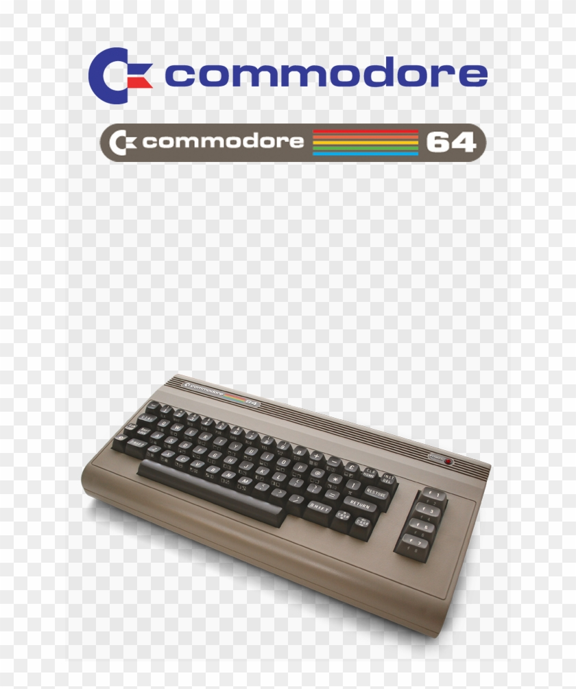 Commodore 64 Photo Commodore64 - Space Bar, HD Png Download