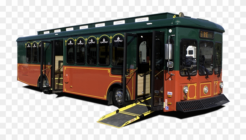 Image Of Trolley Bus For Sale By A-z Bus Sales In California - Bus