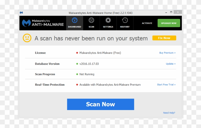 Malwarebytes - Free Malwarebytes Anti Malware, HD Png Download