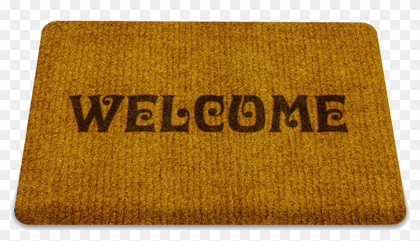 Welcome Doormat Rug Real Life Picture Of Rectangle Hd Png Download 1000x571 540754 Pngfind