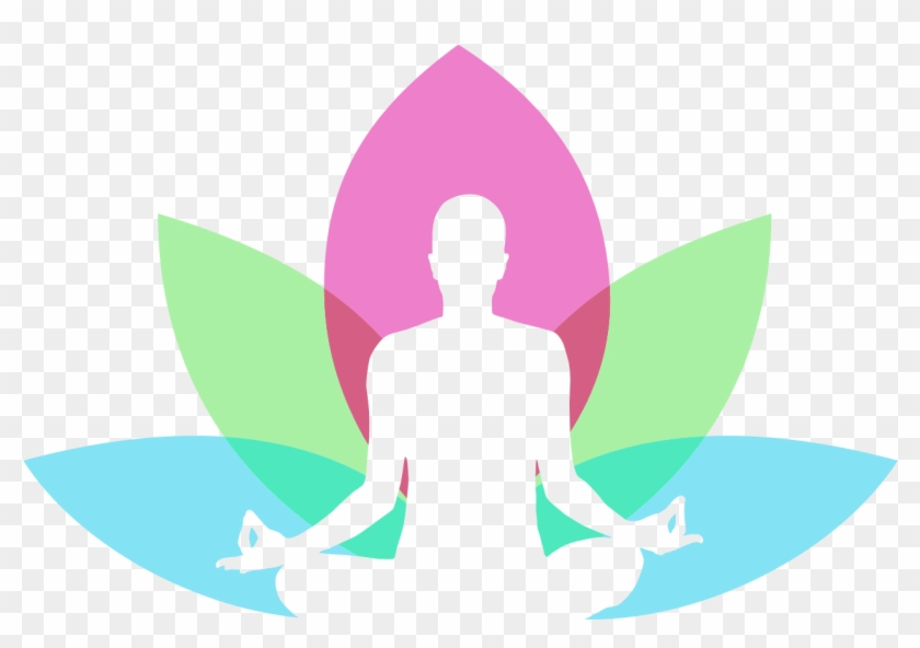 Men With Lotus In Background Yoga Logo Design Png Image Yoga Transparent Png Download 1507x1027 542898 Pngfind