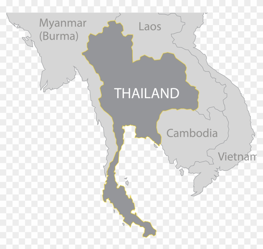 Map Thai Png Map Of Thailand Transparent Png 2642x2367 545786 Pngfind