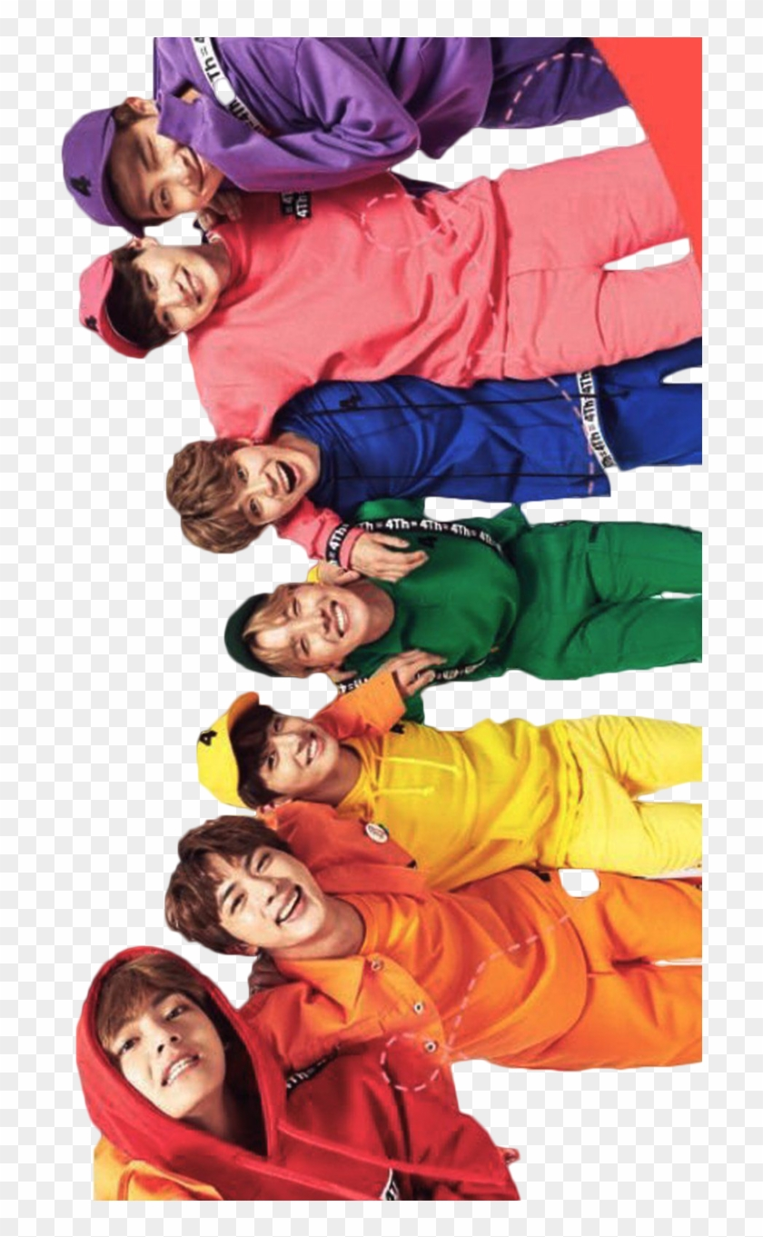54 545966 bts rainbow hd png download